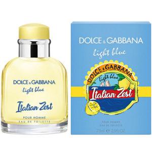 Dolce Gabbana Light Blue Italian Zest pour Homme